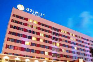 AZIMUT Отель Астрахань